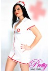 Tenue Infirmière mini robe Pretty nurse