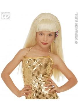 Widmann Perruque Blonde Glamour fille Naomi