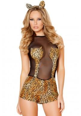 Tenue Animal Jungle Body Leopard