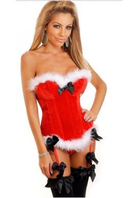 Corset Mère Noel Santa Christmas