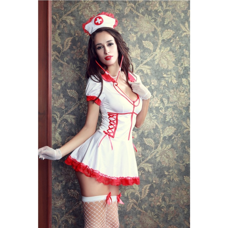 Tenue Robe Infirmière Nurse Domicile
