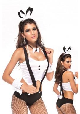 Tenue Lapin Bunny Bretelle Sexy