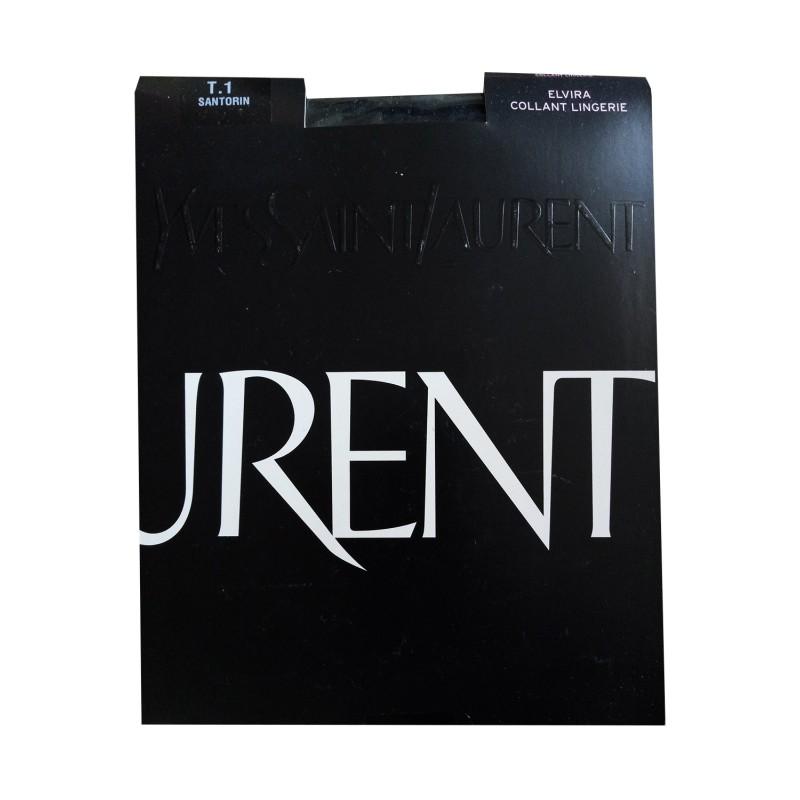 Collant Voile Noir ELVIRA Yves Saint Laurent