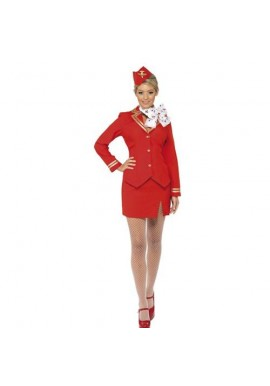 Tenue Hotesse de l'air Steward Tailleur