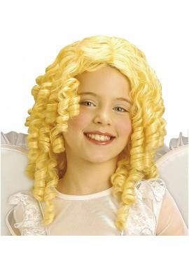 Widmann Perruque Ange Enfant Blond Poupee