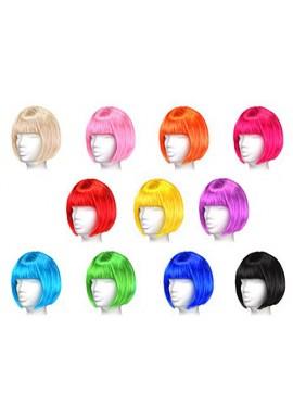 Bleu, Rouge, Noir, Vert, Rose, Orange, Blond, Violet, Jaune