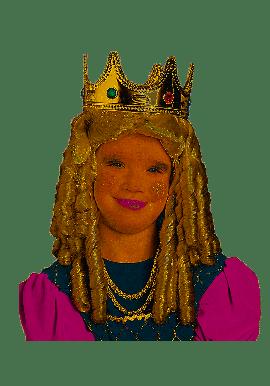 Widmann Perruque Princesse Bouclée Blonde Enfant