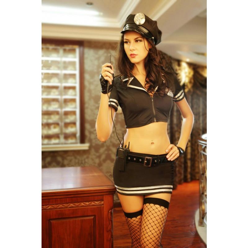 Costume Tenue Policiere Sexy talki walki 7pcs