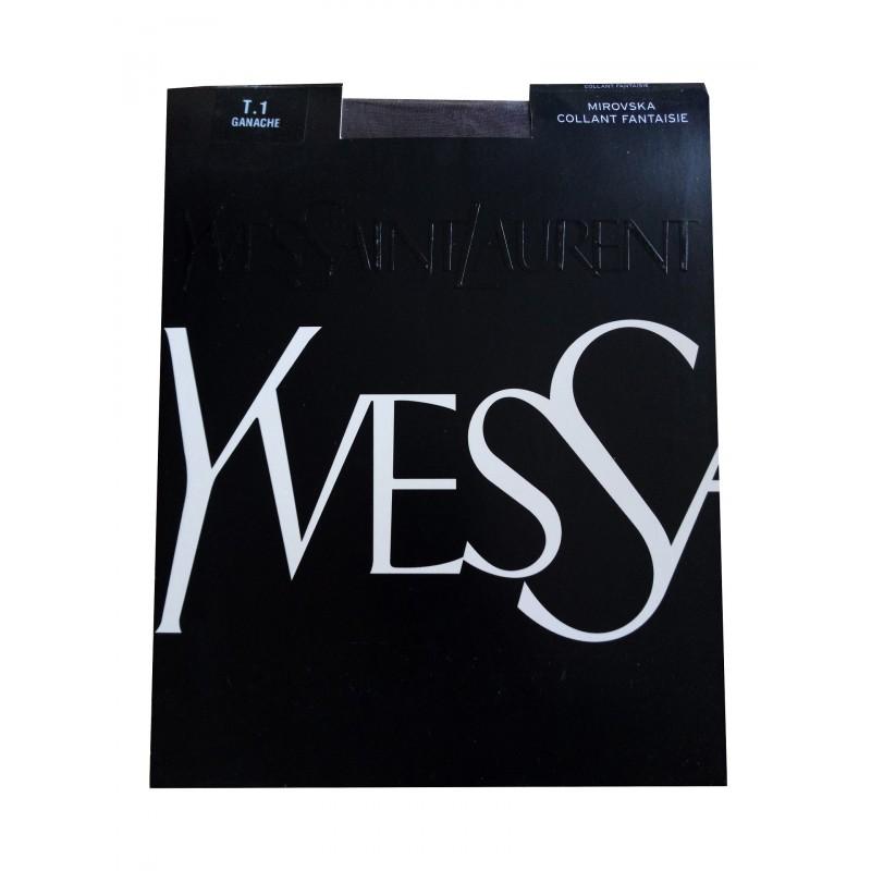 Collant Voile Marron MIROVSKA Yves Saint Laurent