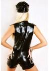 Costume _Policière_ Combi_ Short_ PVC