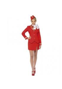 Tenue Hotesse de l'air Steward Tailleur