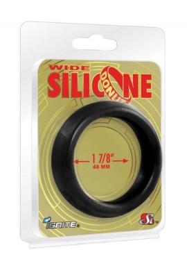 Ignite Large 1,88 en. Coque en silicone en forme de donut – Noir
