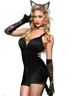 Costume Tenue Chat Chatton Pussycat kitty