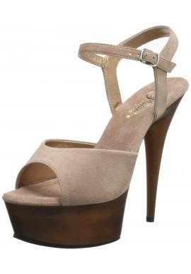 Plateau Talon Hauts Chaussures Femmes Sandalettes Delight-609FW