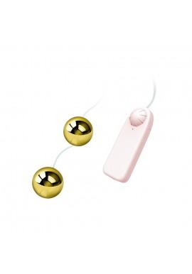 Boules de Geisha Vibrantes Dorées Goldens Balls