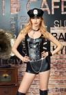 Tenue Costume Policière 5 pièces Sexy Cuir Police SM