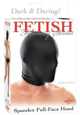 Fetish Fantasy Cagoule Spandex Fermée Noir