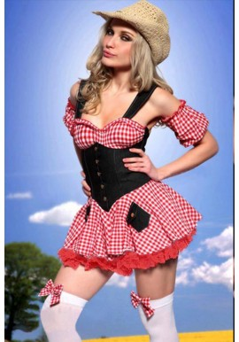 Tenue Cosutme Fermiere Country Girl