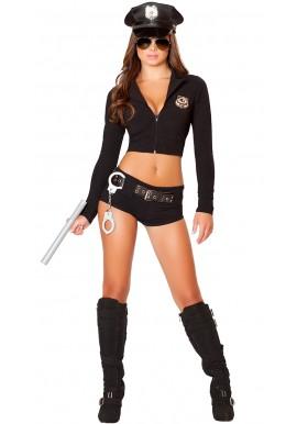 Tenue Costume Policière 6 pièces Sexy Police
