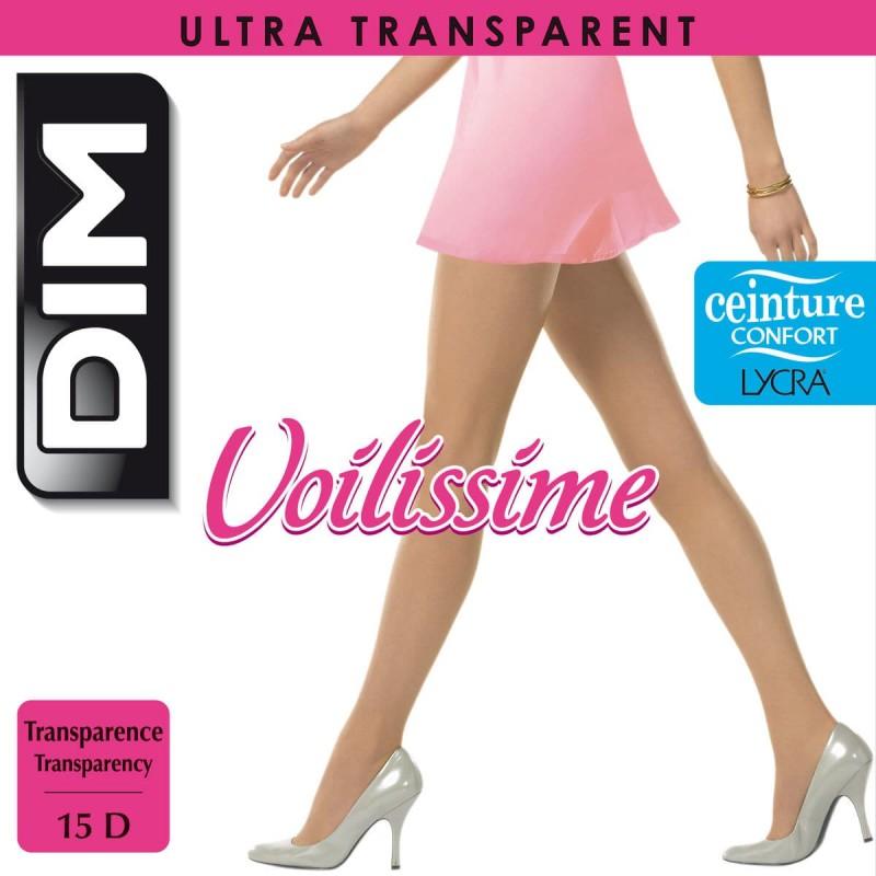 DIM Collant Voile Voilissime Ultra Transparent Pantyhose