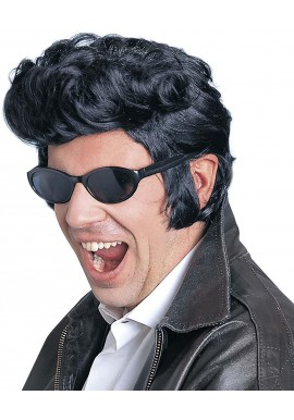 Widmann Perruque Elvis Noir