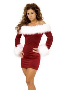Tenue Mère Noël Sexy Robe Soirée 2