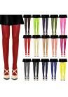 Collants Voile Opaques 50 Deniers (Rouge, Bleu, Rose, Violet, Vert, Beige, Jaune, Gris, Creme)