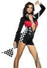 Beauty's Love Racing Combinaison Noir/Rouge