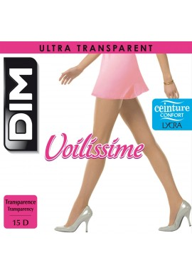 DIM Collant Voile Voilissime Ultra Transparent Pantyhose