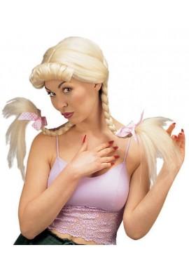 Widmann Perruque Tresse Helen Blonde