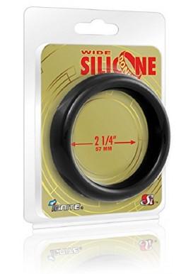 Ignite Anneau de Pénis Donut Ring en Silicone Noir 57 mm