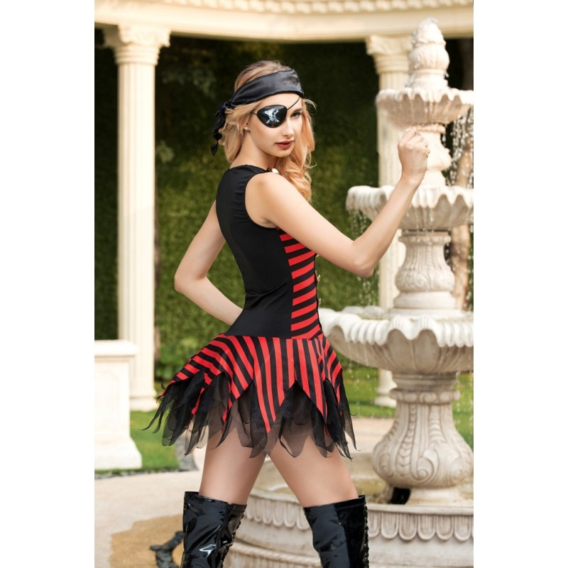 Tenue Deguisement  PIRATE Bandeau Cache Oeil