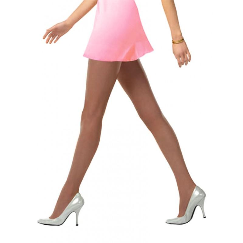 DIM Collant Voile Voilissime Ultra Transparent Pantyhose Marron Ecureuil