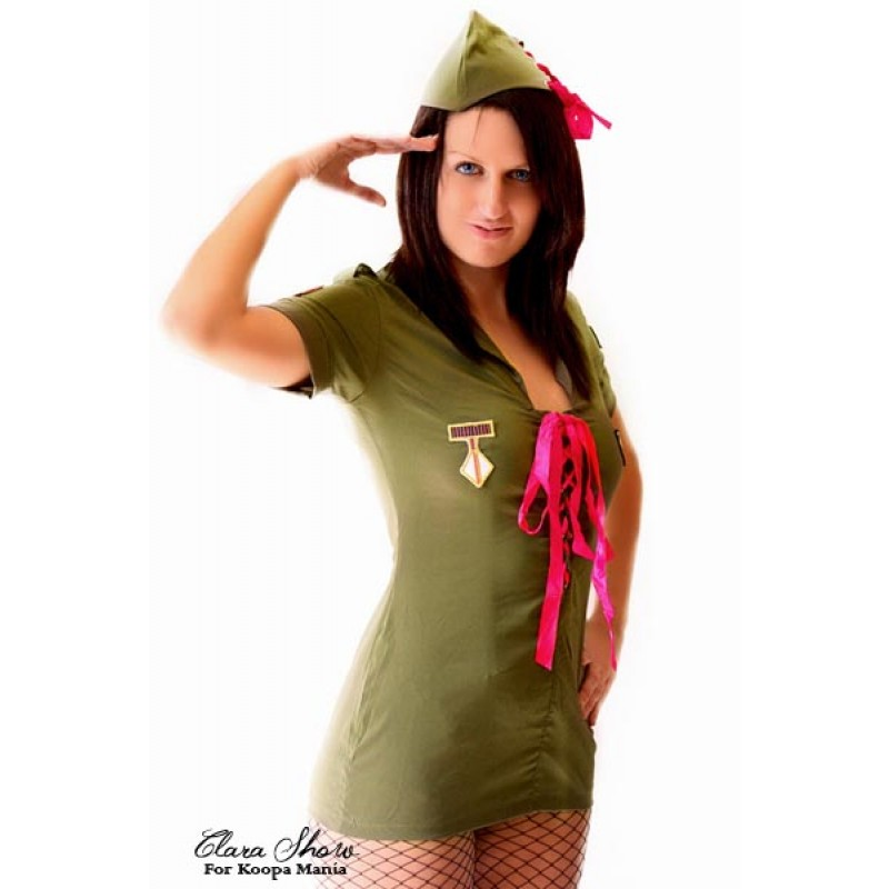 Tenue Militaire Army Sexy