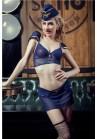 Tenue Uniforme Hotesse De L'Air Ciel Bleu