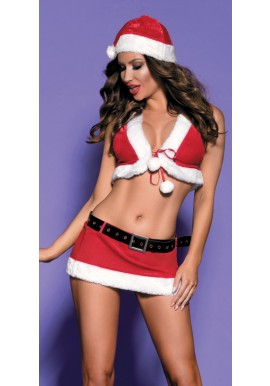 Ensemble SEXY tenue MERE NOEL Miss Santa
