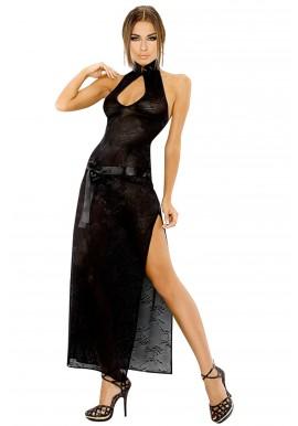 Robe Longue AYA Obsessive Noir